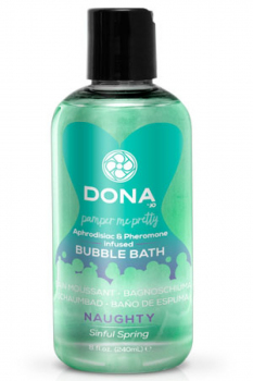 Пена для ванны Dona Bubble Bath Naughty Aroma Sinful Spring